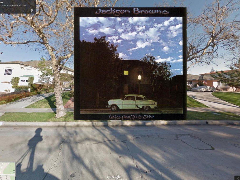 portada de discos clasicos en Google Street View (9)