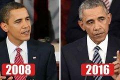10 presidentes estadounidenses que sufrieron el peso del cargo
