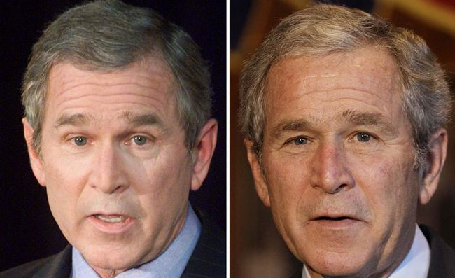 presientes estados unidos antes y despues Bush hijo(10)