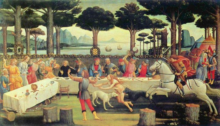 sandro_botticelli_comida edad media