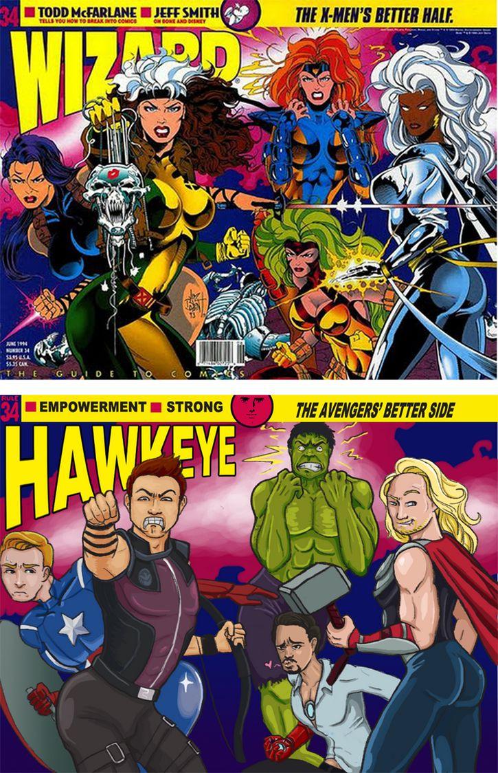 superheroes como heroinas