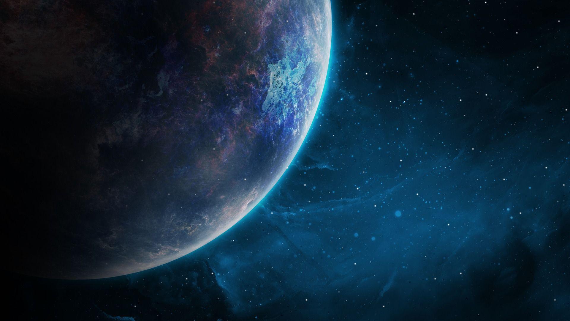 universo visto desde un planeta