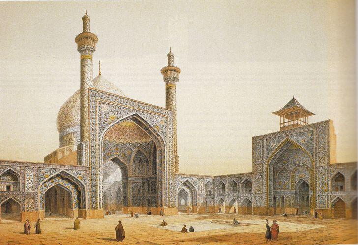 mesquita-dorada