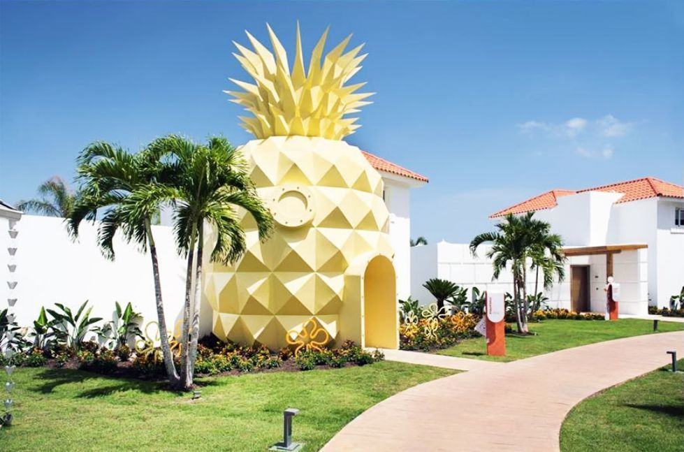 pineapple-villa-en-punta-cana-bob-esponja-2