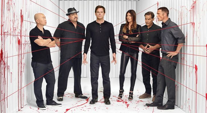 dexter equipo serie television