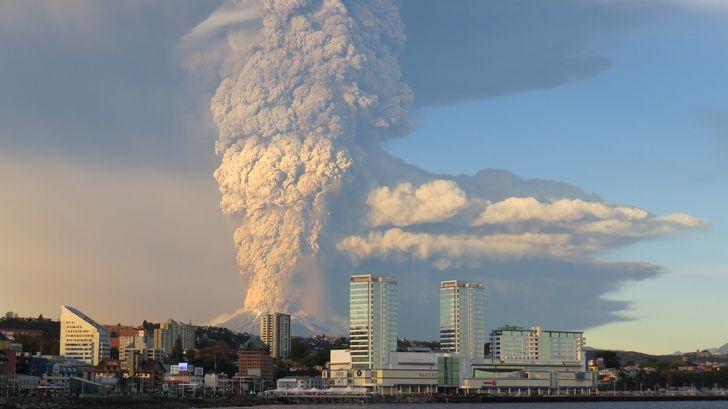 Erupción Volcán Calbuco.