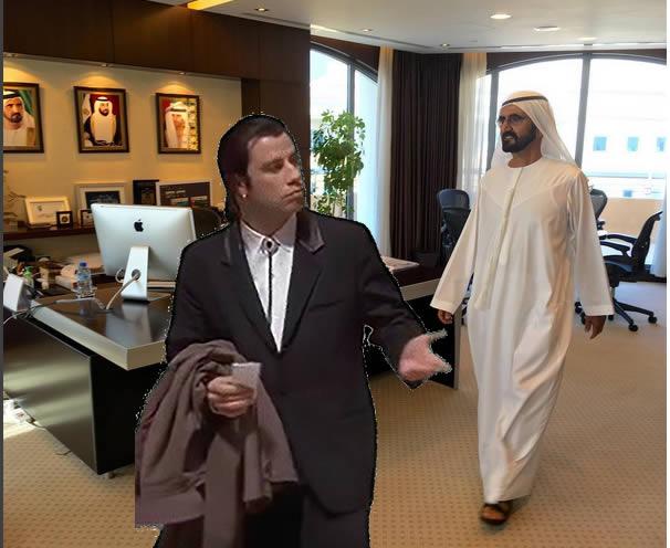 jeque visita oficinas