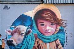 Arte urbano alucinante de YASH