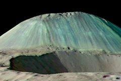 En el planeta enano Ceres hay un volcán que escupe agua y sal