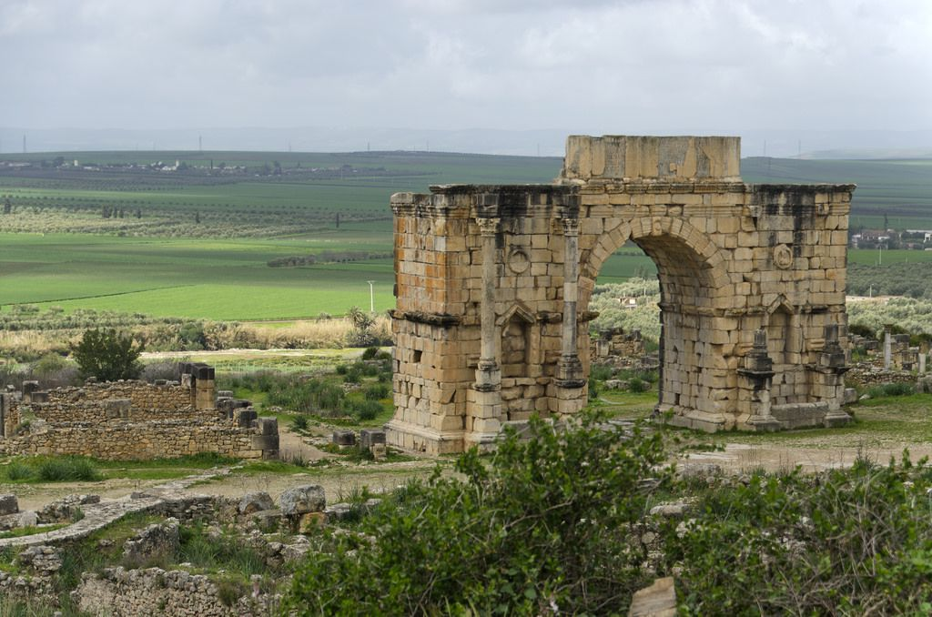 volubilis-marruecos-arco-del-triunfo