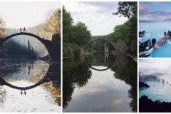 11 lugares del mundo fotografiados por un profesional y un aficionado