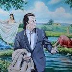 Artista recupera pinturas que nadie quiere y las transforma en obras maravillosas