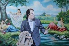 Artista recupera pinturas que nadie quiere y las transforma en obras maravillosa...