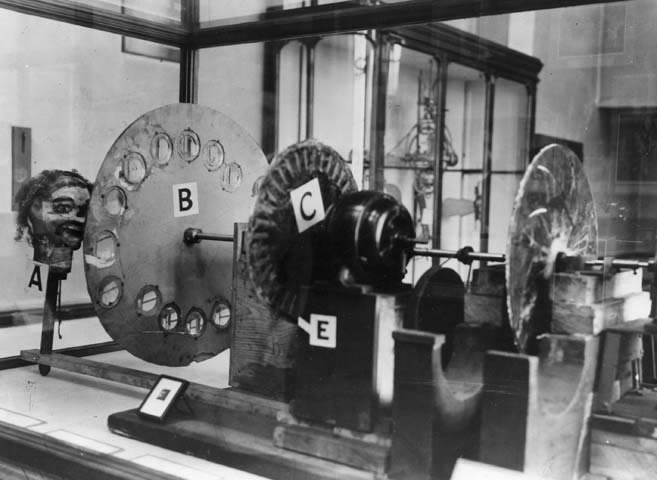 John Logie Baird experimento television