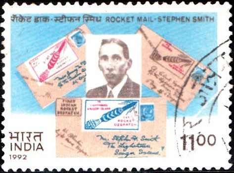 rocket-mail-stephen-smith-india-stamp-1992