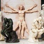 Obras de arte clásicas convertidas en figuras de acción