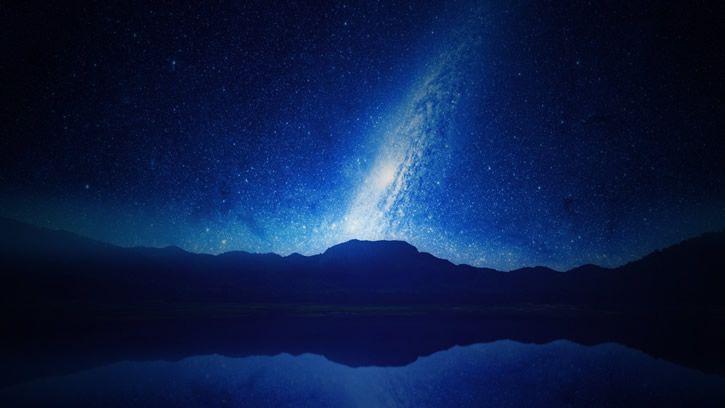 galaxia-azul-estrellada