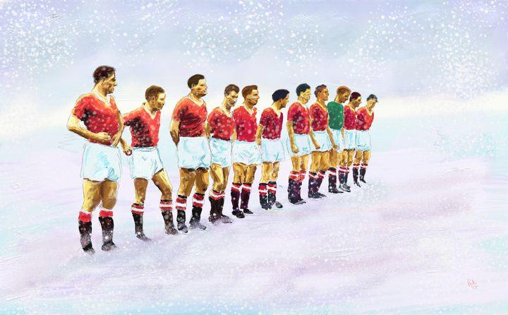 manchester-united-alineacion-1958
