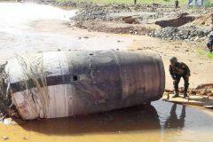 Un misterioso objeto no identificado cae en Myanmar