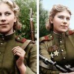 Roza Shanina, la francotiradora soviética