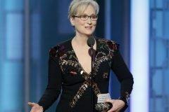 El emotivo discurso de Meryl Streep en los Globos de Oro