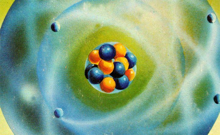 Atomo ilustracion