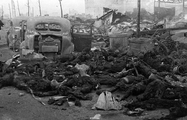 bombardeo de napalm a tokio 1945