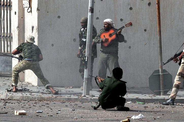 cantando en balacera