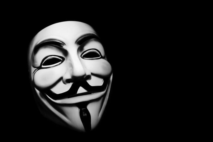 Guy fawkes mascara