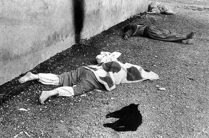 masacre kurdos en Halabja