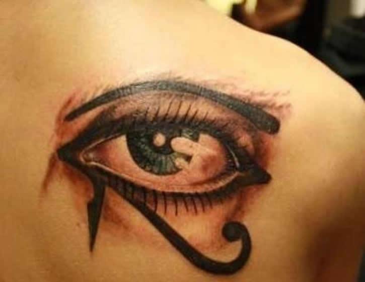 El Ojo De Osiris Tatuaje Sfb