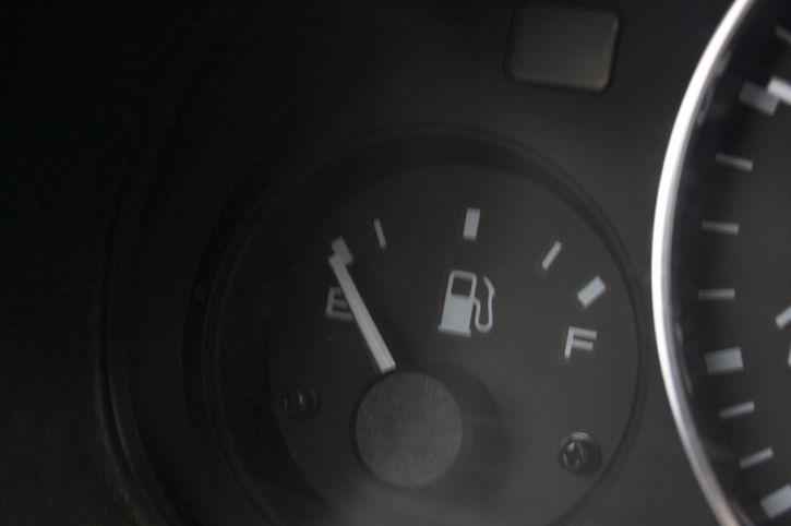 Tanque gasolina vacio