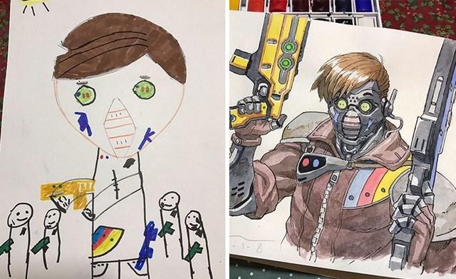 tranforma dibujos niños en anime (3)