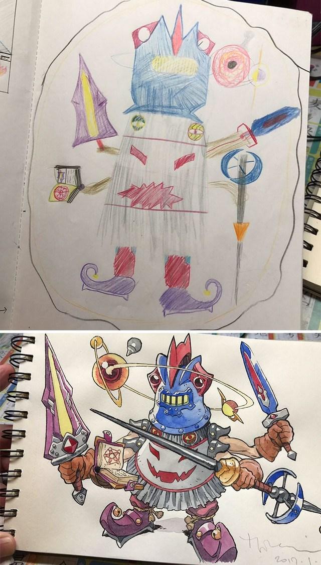 tranforma dibujos niños en anime (4)