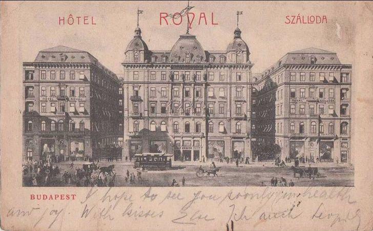 Hotel royal budapest postal