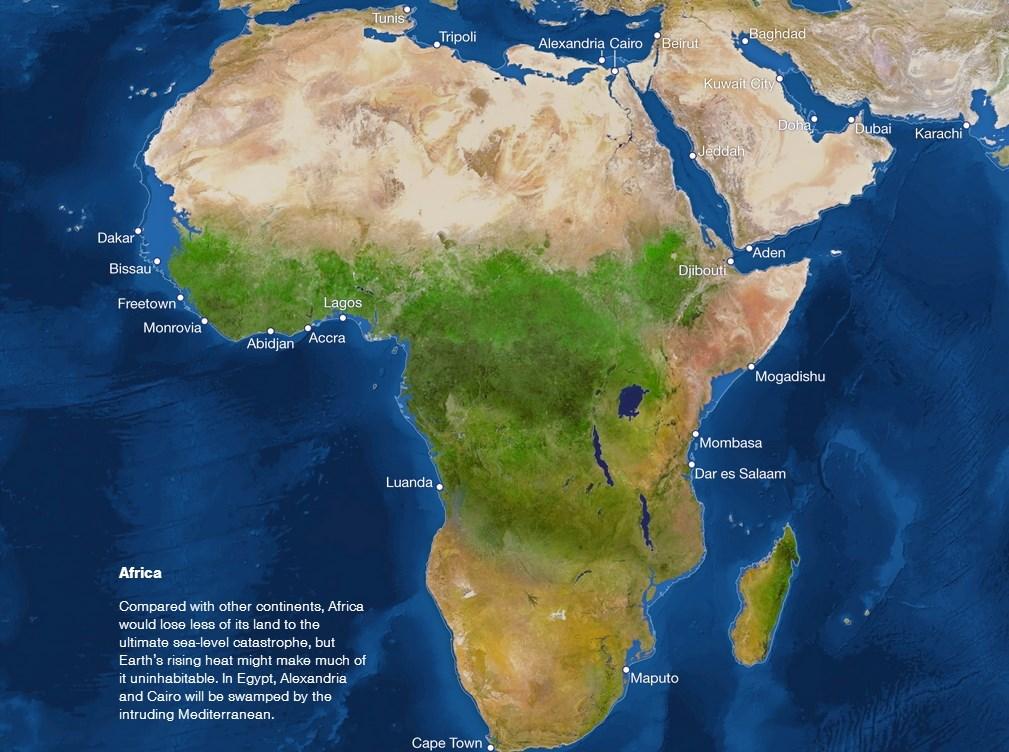 La Tierra sumergida africa