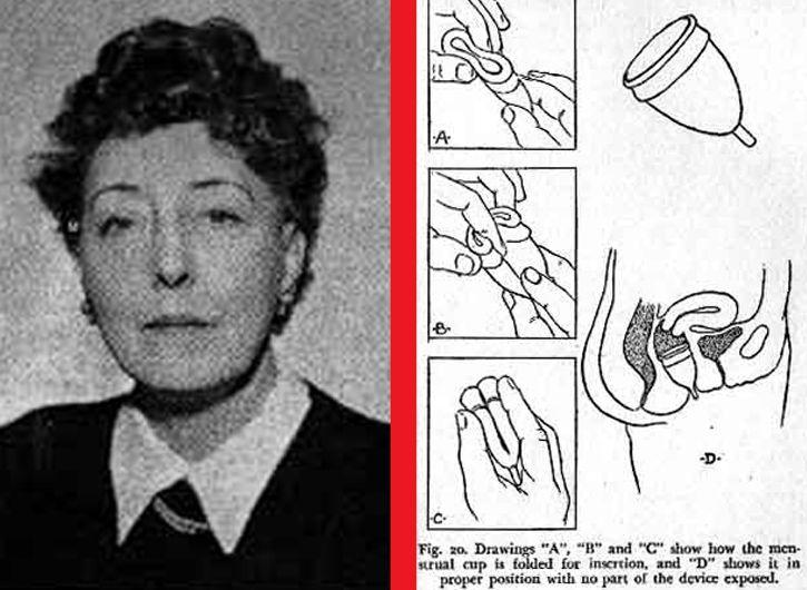 Leona Chalmers copa menstrual invencion