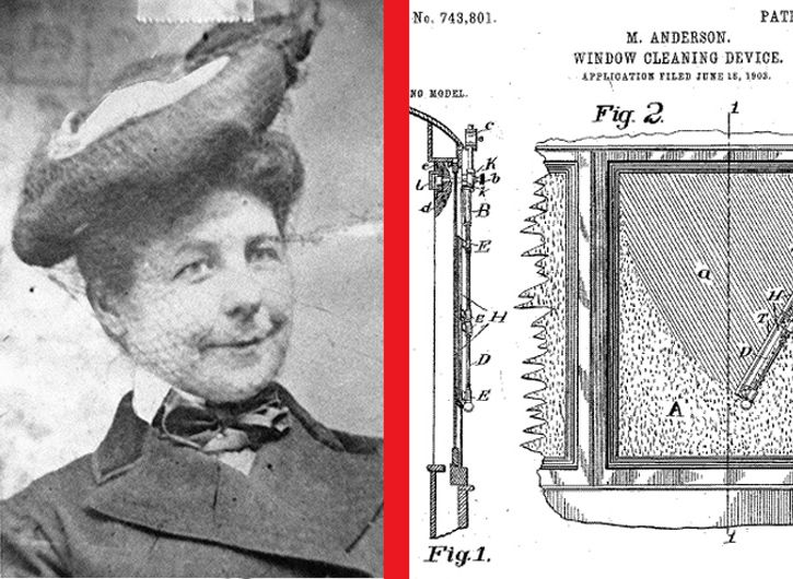 Mary Anderson limpiaparabrisas
