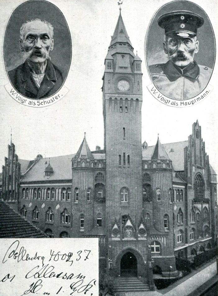 Wilhelm Voigt el capìtan