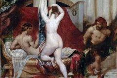 William Etty Candaules pintura