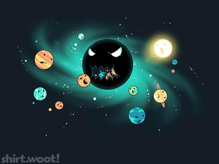 agujero negro devorador ilustracion