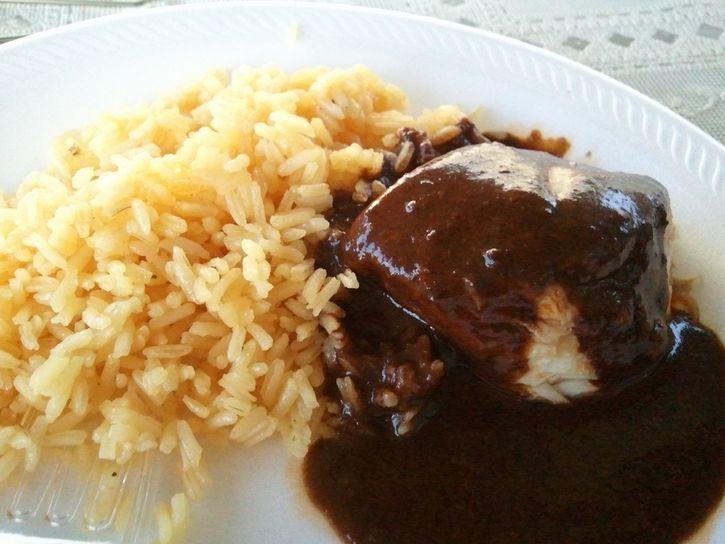 arroz con mole