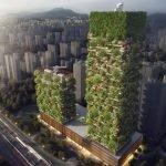 Este será el primer bosque vertical de Asia