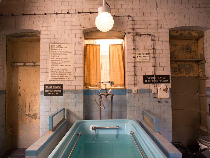 Budapest pelicula spa