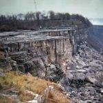 El día que secaron las cataratas del Niágara