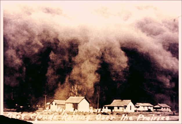Dust bowl black sunday