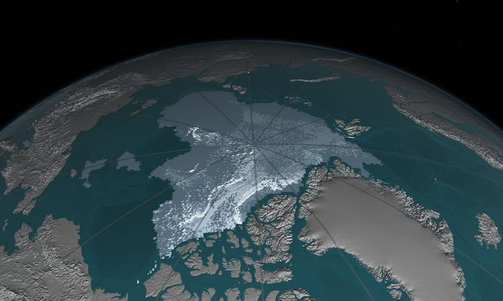 el descongelamiento del ártico