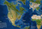 el mundo con el hielo derretido
