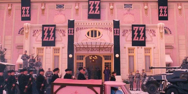 Grand budapest hotel entrada