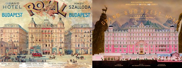 Grand hotel royal vs grand budapest hotel